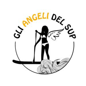 Angeli del sup - logo -graphic design